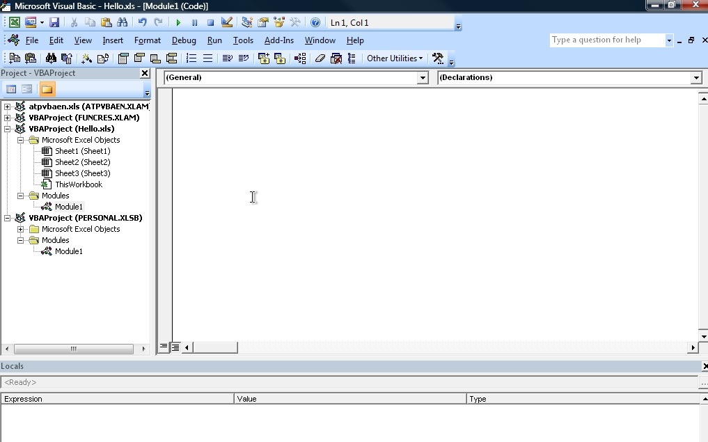 Hello world in a udf newton excel bach not just an for Window is not defined