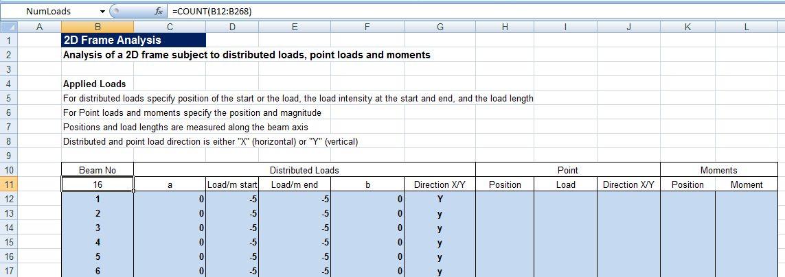 structural design excel sheets free download