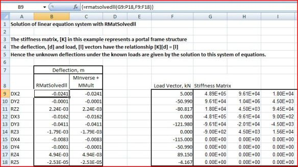 Compiled AlgLib Matrix Functions for Excel | Newton Excel Bach, not