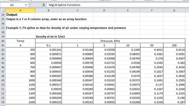 how to use interpolation in excel 2010