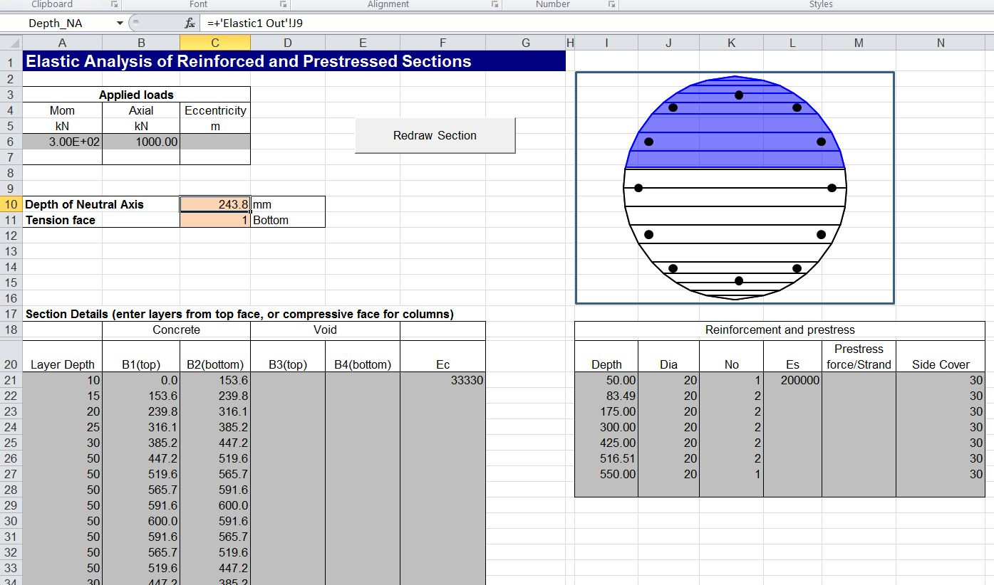Using Beam Design Functions | Newton Excel Bach, not (just) an Excel