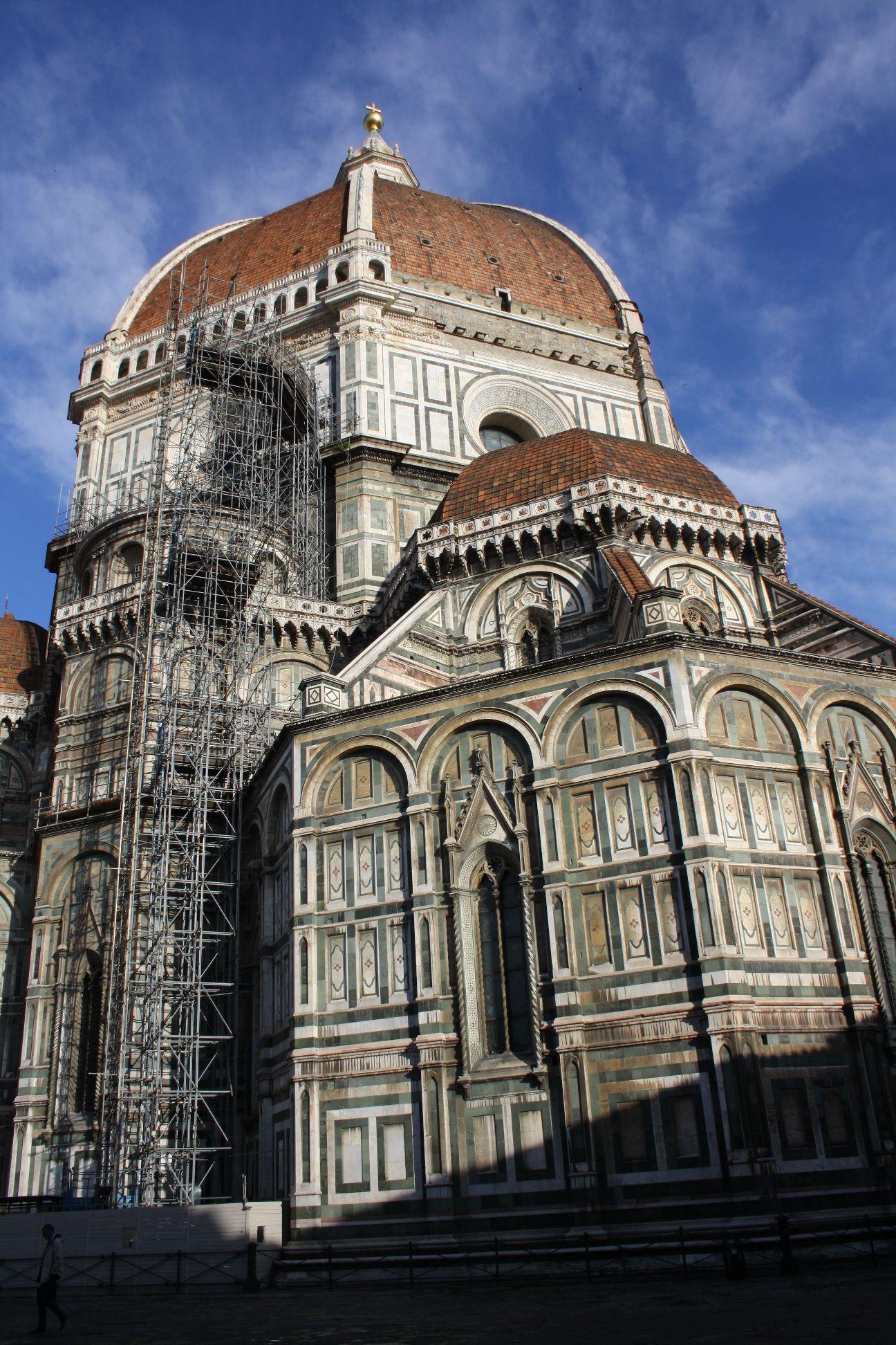 The Dome Of Santa Maria Del Fiore In Florence Newton