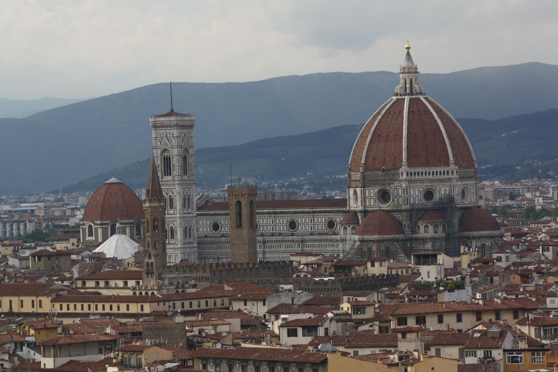 Florence Dome: The Dome Of Santa Maria Del Fiore In Florence