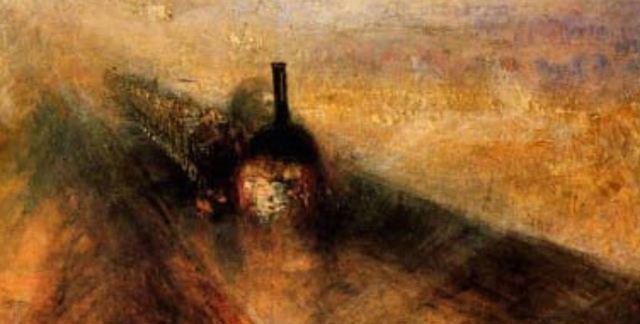 Rain, Steam and Speed - detail