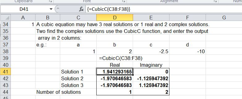 Solving Quadratic, Cubic, Quartic and higher order equations