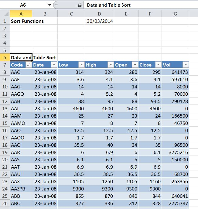 Dynamic sorting with Excel, VBA, and Python | Newton Excel