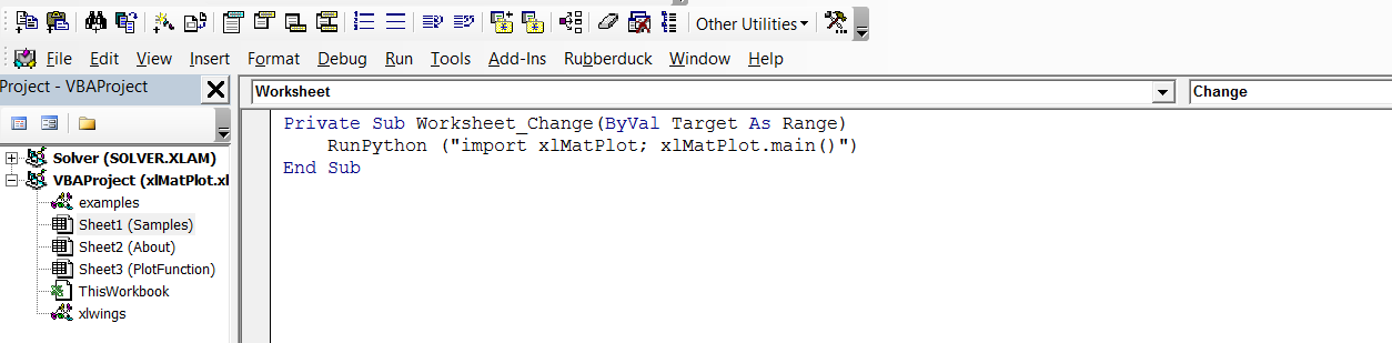 Use Matplotlib from Excel with xlwings | Newton Excel Bach, not ...