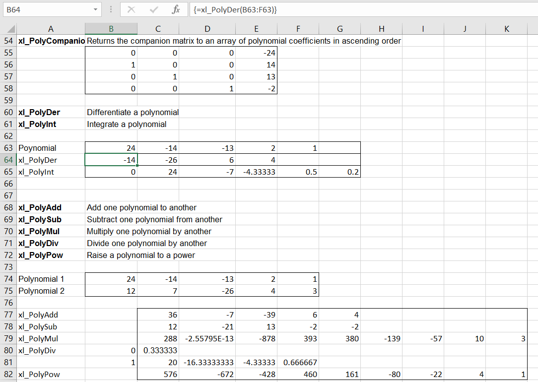 More Numpy with Excel and xlwings   Newton Excel Bach, not